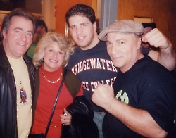 Dan McGonagle, Nancy McNeeley, Peter McNeeley and Vinnie Vecchione