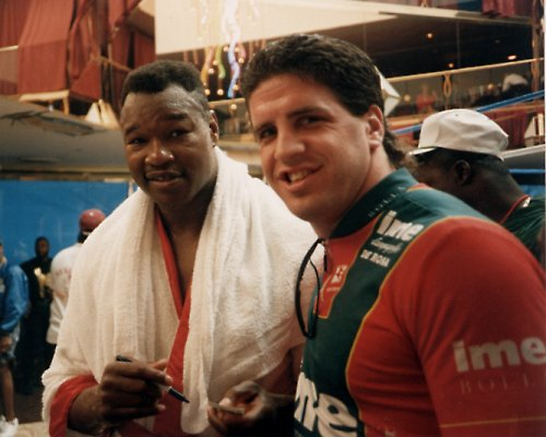 PETER McNEELEY AND LARRY HOLMES