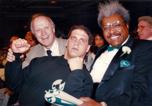BOXER PETER McNEELEY AND HIS NEW PROMOTER DON KING