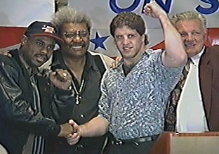 OLIVER McCALL, DON KING, PETER McNEELEY AND TOM McNEELEY