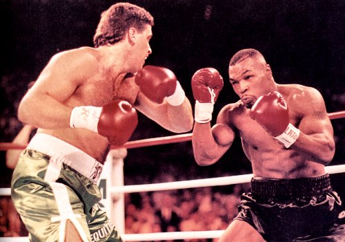 PETER McNEELEY ATTACKS MIKE TYSON HEAD ON