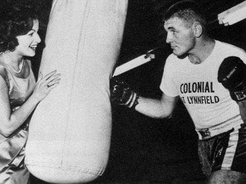 TOM AND NANCY McNEELEY IN 1961 PUBLICITY SHOT