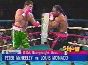 Peter McNeeley vs Louis Monaco - Image #1