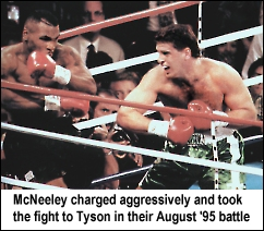 PETER McNEELEY ATTACKS MIKE TYSON